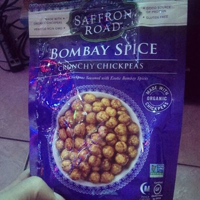 Nongmoproject approved spicy chickpea treat!! :)