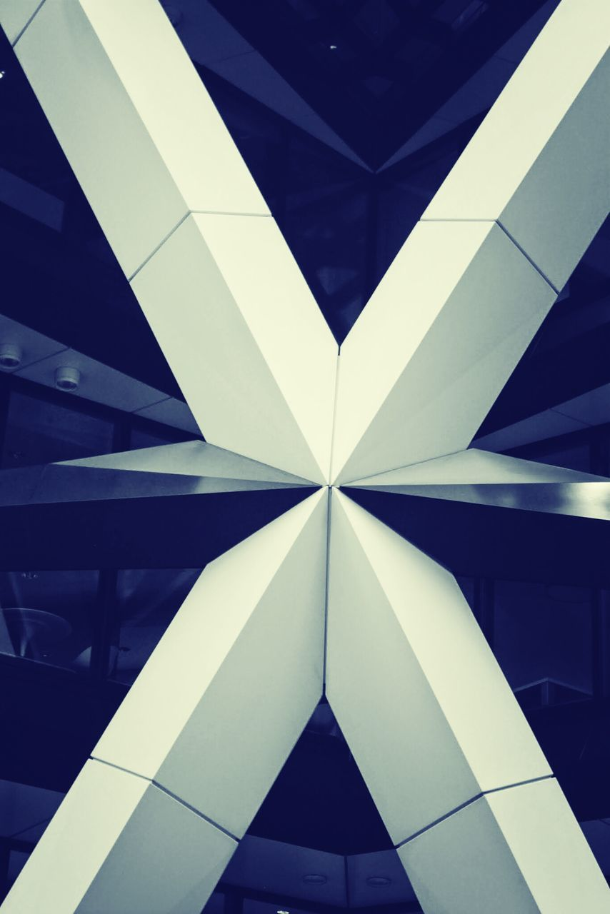 triangle shape, architecture, indoors, built structure, no people, backgrounds, close-up, illuminated, day