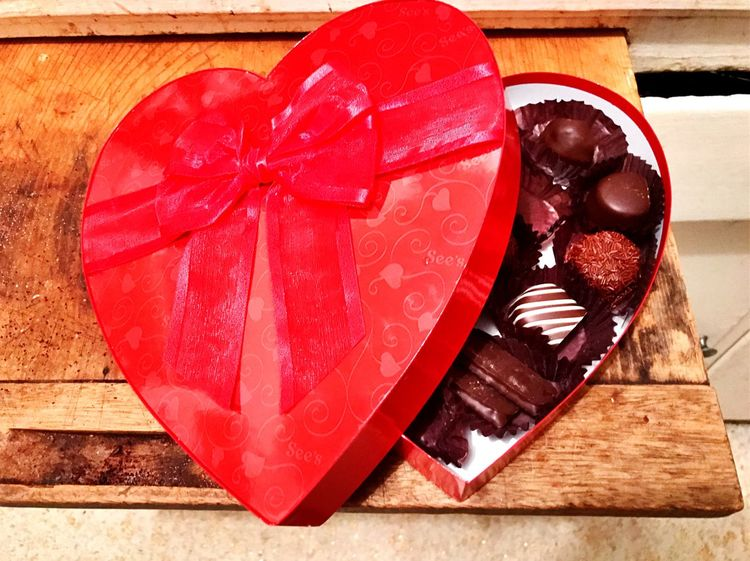 Koduckgirl Sweet Food Red Heart Box See's Candies Valentine's Day  Prohdrx