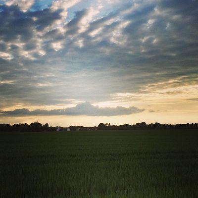Himmel Sky Landscape Landschaft Wolken Clouds Jüterbog