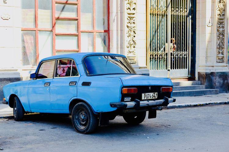 Moskvich x Havana. Cars Cuba Habana Habana Vieja Havana Retro Taxi Car City Drive Moskvich Retro Styled Street Taxis Transportation