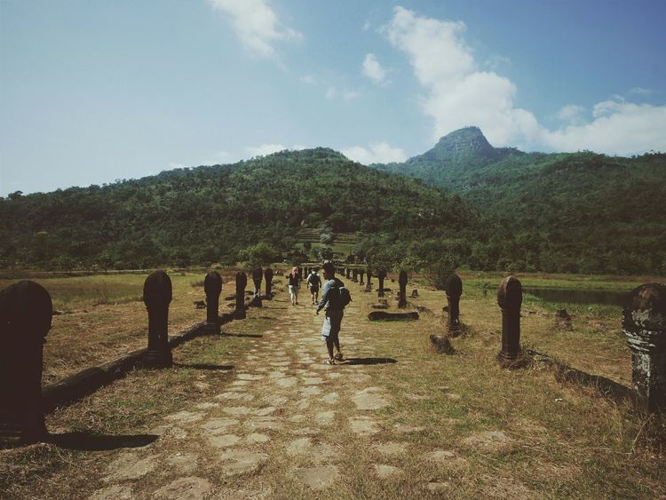 If you're gonna do something crazy, make it count.Vanishing Point Wat Phu Champasak Laos Khmer Empire Road To Angkor Portrait