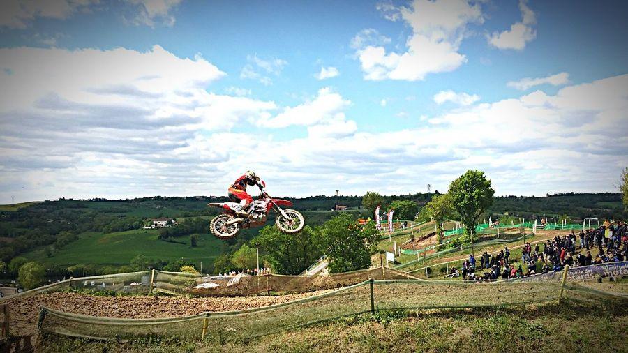 Motocross Freestyle Championnat De France Cross Racing Sport Sports Photography Jump Jumping IPhoneography Iphone6s Iphonephotography Iphoneonly