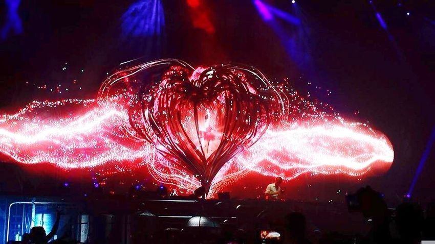 Electronic Music Shots Heart Arminvanbuuren Festival Music Techno Red Mexico City Mexico Lights