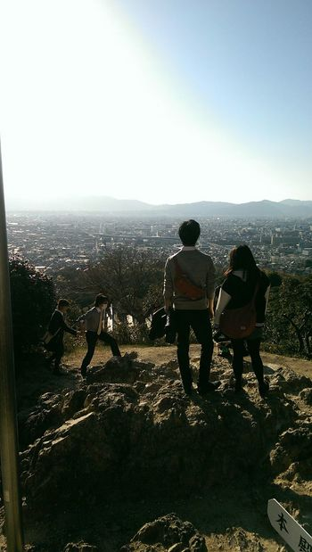 Fushimi Inari Shrine Mountain View
