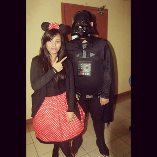 Acquaintance party. And Darth Vader was there as well :)))) Throwback 2012 Aquaintanceparty School friendchi