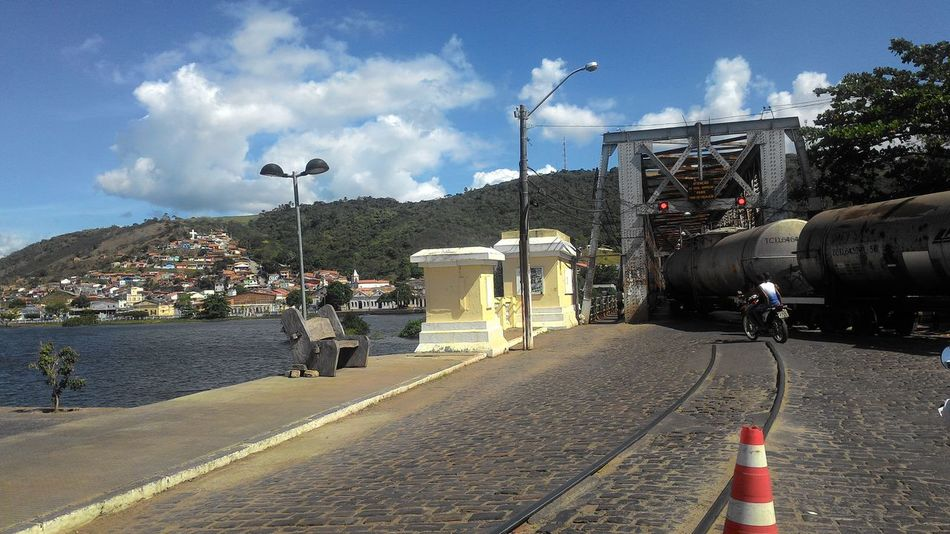 Street Life Train Bridge River That's Me Check This Out Hello World Bahia Brazil