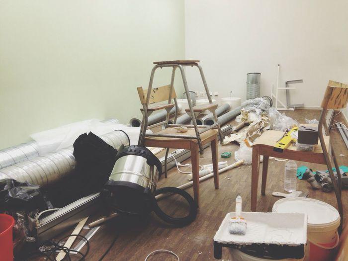 Trash Ladder Vacuum Renovation