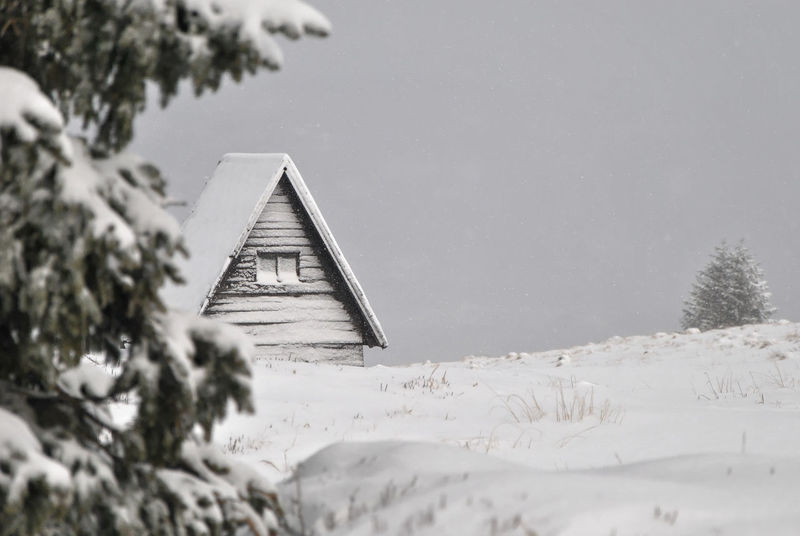 Mountain hut Karkonosze Snowing ❄ Sudety Winter Winter Landscape Wooden Hut Architecture Beauty In Nature Built Structure Cold Temperature Day Forrest Mountain Hut Nature No People Outdoors Scenics Shelter Sky Snow Snowing Tree Water Weather Winter