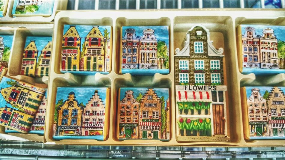 Dutch Chocolate Cute Houses Sweet Moments