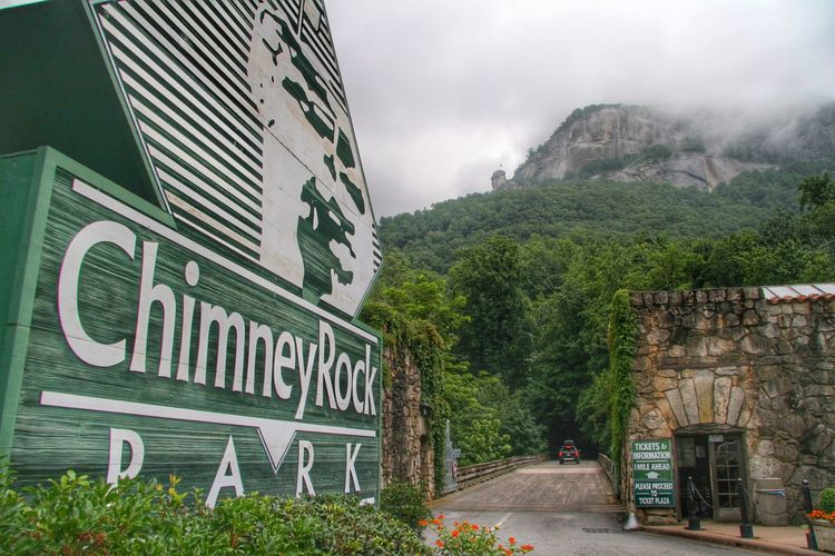 Chimney Rock Chimney Rock Park North Carolina