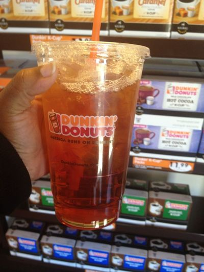 Good ass southern sweet tea #DunkinDonuts