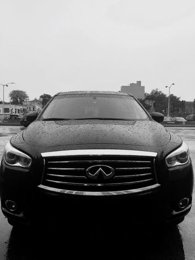 Rainy Days spent at work 🏦☁️☁️☔️ Inifiniti QX60 My Car B.A.T. Brooklyn Army Terminal Veiw From My Job Iphone6plus IPhoneography EyeEm Best Shots - Black + White EyeEm Best Shots