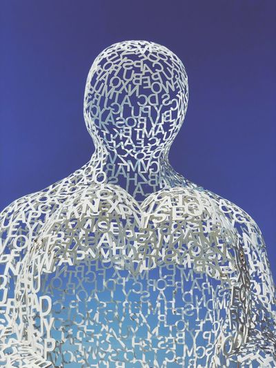 EyeEm Selects Pattern Science Technology Blue Representation Human Representation Art And Craft