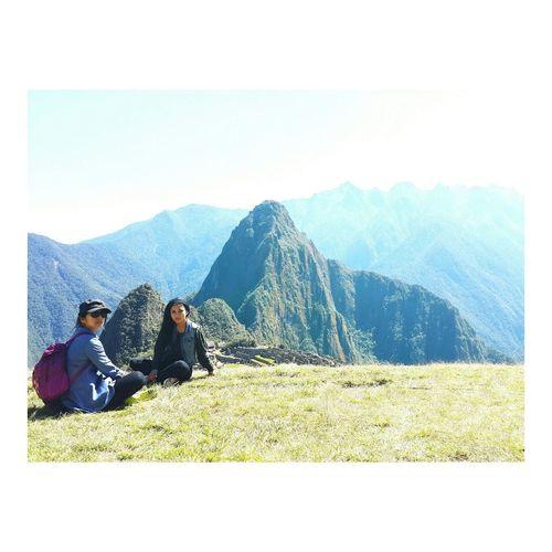 On The Top MachuPicchu Worldwonder