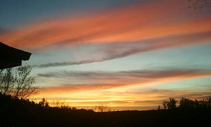 11.27.15 5:30p.m. Raleigh Northcarolina Evening Sky Sunset Paintthesky Withallthecolorsofthewind CeBPhotography