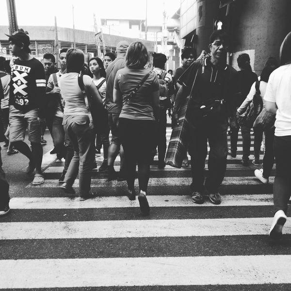 City Street HuaweiP9 Huawei P9 Leica Crowd Eyeem Philippines