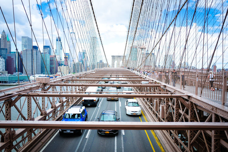 Brooklyn Brooklyn Bridge / New York Cars NYC New York New York City New York ❤ Traffic USA Architecture Brooklyn Nyc Brooklynbridge City New York City Life Skyscraper Street Photography Streetphotography Transportation Urban Skyline first eyeem photo