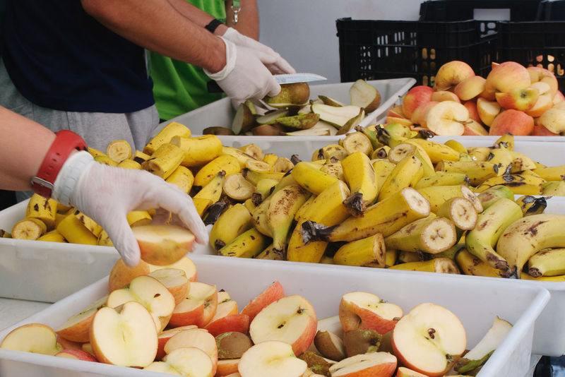 Abundance Apple Banana Choice Food Food And Drink Freshness Fruit Hands At Work Healthy Eating Healthy Lifestyle Pear Vegetable Working Hands Yellow Food Stories