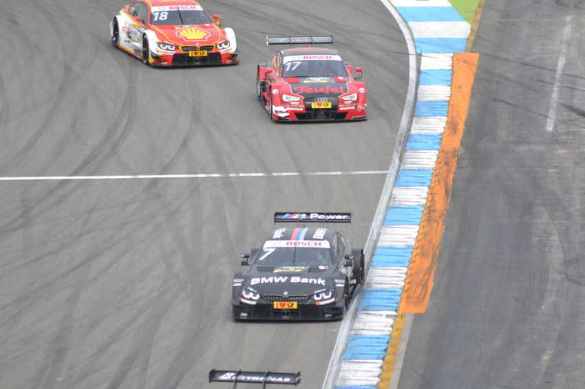 Audi Audi ABT DTM Hockenheimring Mercedes Abt Auto Auto Racing Bmw Car Day Finale Gernany High Angle View Hockenheim Land Vehicle Mode Of Transport Motion Motorsport No People Outdoors Racecar Rennen Rennsport Road Speed Sports Race Sports Track Traffic Cone Transportation