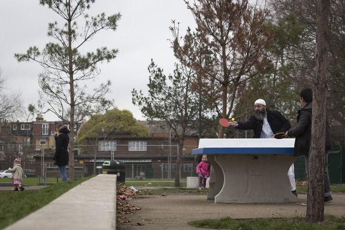 Muslim Muslim Family Muslim❤️ Pingpong Table Tennis