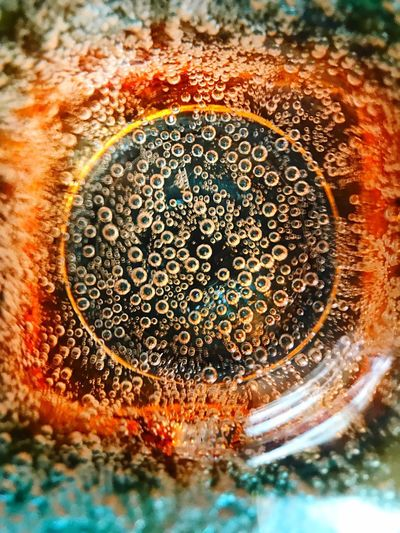 Colourful Bubbles Coulourful Bubbles Bubble Drinking Glass Glass Close-up No People Geometric Shape Bubble Shape Indoors  Circle Refreshment Drink Food And Drink Water Soda EyeEmNewHere