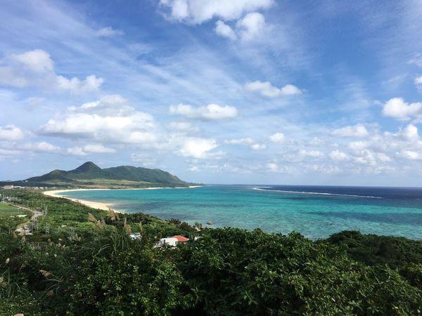 Cloud - Sky Sea Sky Nature Beauty In Nature Mountain Blue Sea Blue 石垣島 Trip Photo Trip Nature Beauty In Nature 玉取崎展望台