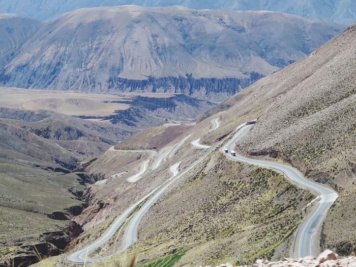 Mountain road...
