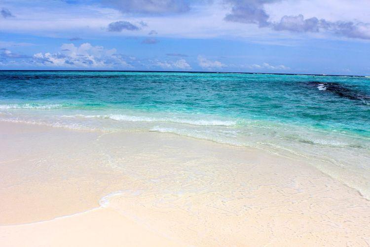 Sky Beach Ocean