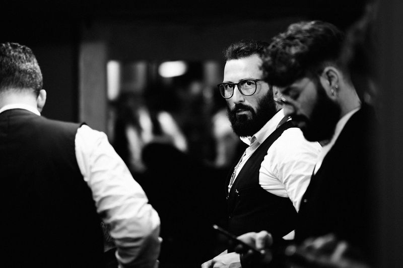Showcase: February Hairstylist Festival Di Sanremo The EyeEm Facebook Cover Challenge Sanremo EyeEm Best Shots EyeEm Masterclass Backstage Monochrome EyeEm Bnw Blackandwhite