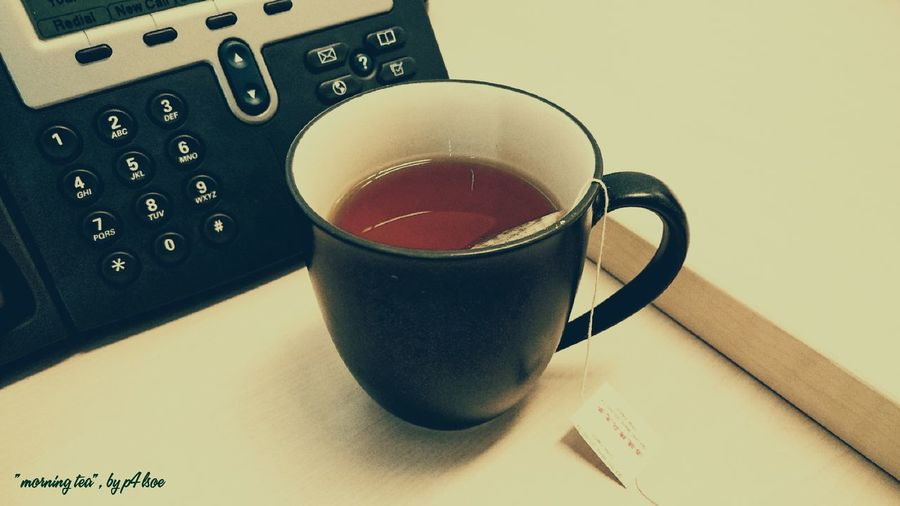 Morning Tea by P4lsoe, Tea For Today...