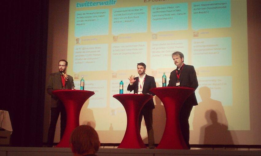 urheberrechtsdiskussion bei der #epub12