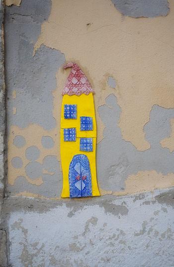 Lisbon Street Lisbon Streets Tall Tile House Tile Yellow