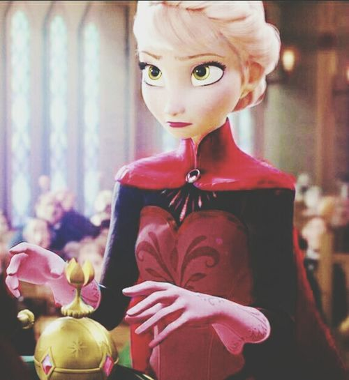 Fire Elsa --HannahMarieX Elsa Fireelsa Elsaevil