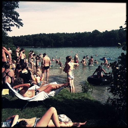 #brandenburg #liepnitzsee #waldbad #badespaß #badestelle #strand #wandlitz #germany #ausflug