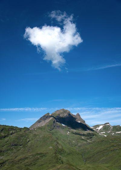 Cloud - Sky Environment Landscape Mountain Mountain Peak Mountain Range Nature Outdoors Remote Scenics - Nature Single Cloud Sky