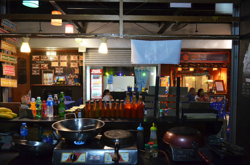 Asian Cuisine Cooking Chilli Sauces Food Business Food Stall Indoor Lighting Indoors  Kitchen