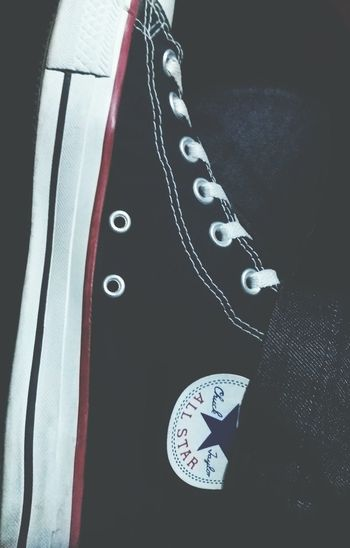 Close-up Allstar J5 Camera Shoes Converse All Star Converse⭐ Converse ChuckTaylors Allstarconverse Blackallstar