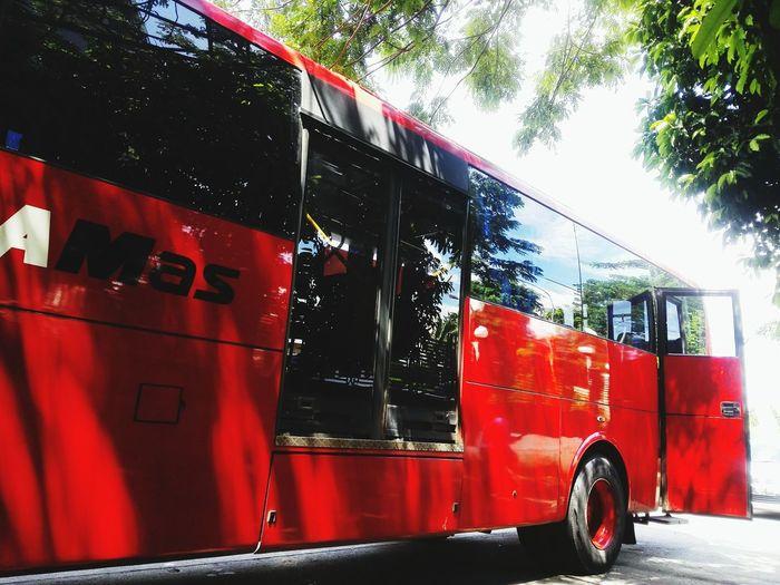Bus Transportation Angkutan Umum Angkutan Massal Agramas Bus Red Bus🚌