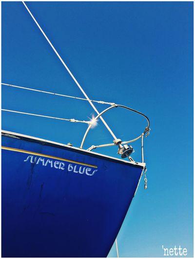 Color Palette Bluehues Summerblues Nautical Boat Eyeemphoto