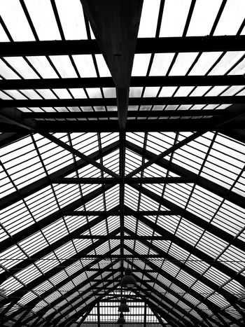 Architecture Indoors  Built Structure Day Low Angle View Full Frame Pattern The Graphic City