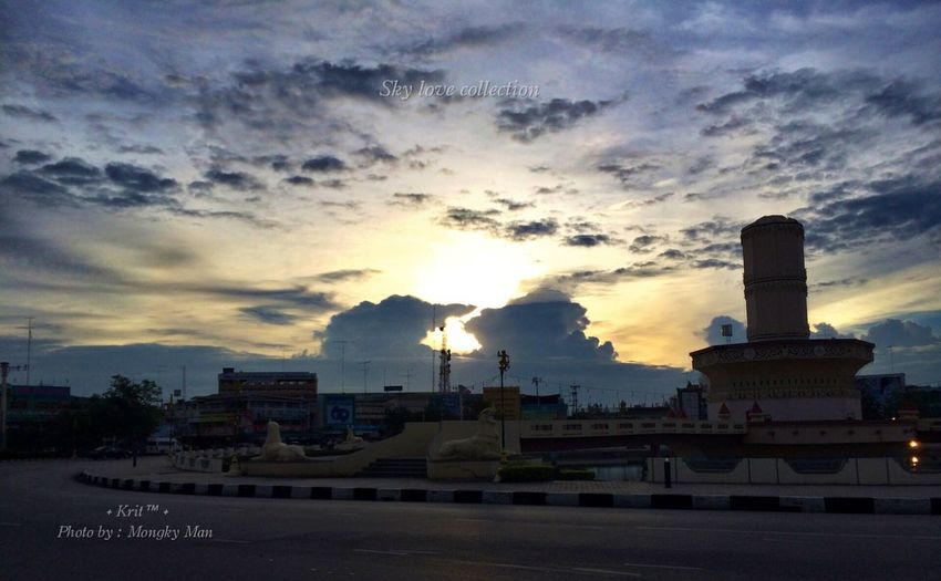 ⛅️Sky love collection⛅️ ✨iPone 5s © Photo by : +Krit+✨ Traveling Landscape Sunset_collection Eyeam_bestshot