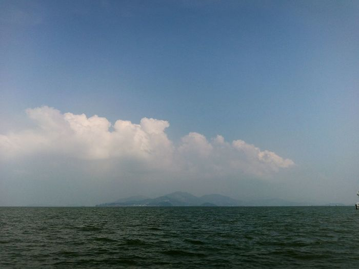 Journey On The Road Taking Photos ASIA Nature Sky And Sea in Thailand view to Myanmar