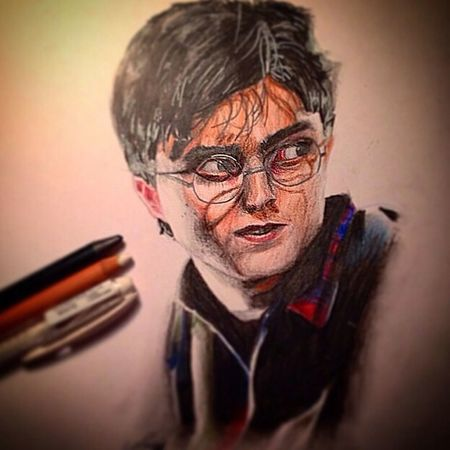 Harry Potter And The Deathly Allows Drawing My Draw ♥