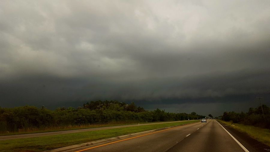 Florida Storms The Purist (no Edit, No Filter) Thunderstorm Tropical Climate No People Outdoors Nature Landscape Cloud - Sky Road Florida Storm Beauty In Nature Dramatic Sky Awe Powerful Nature