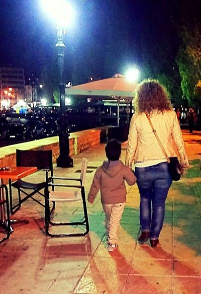 Hello World That's Me Walking Around The City  My Baby Boy Christmas Time Night Lights Athens Paparazi 😍😌😊 Model Me 😉 Nice Atmosphere Colorful Relaxing Moments