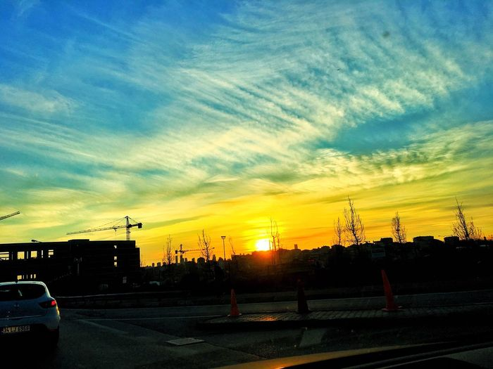 View Nature Sunset Sunrise Sun Clouds And Sky Morning Turkey Istanbul First Eyeem Photo