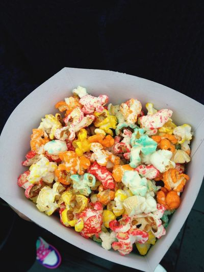 Color pop-corn