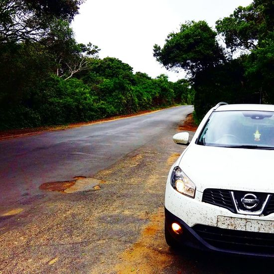 Finding New Frontiers taking the Qashqai for a ride across the country - South Africa St Lucia Wetland Park Sodwanna Bay Forest