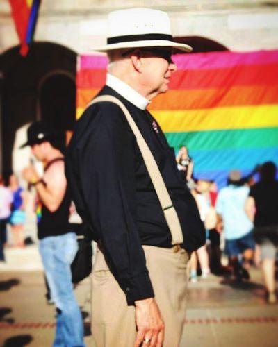 Sacramento Pride NOH8 Marriage Equality For All Marriage Equality Priest Flag Gay Pride Gay Pride Flag Gathering Celebration